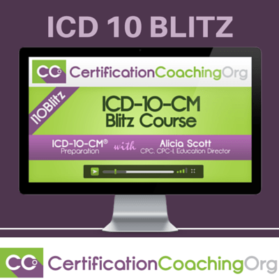 Icd 10 Cm Blitz Course Online Training Amp Certification