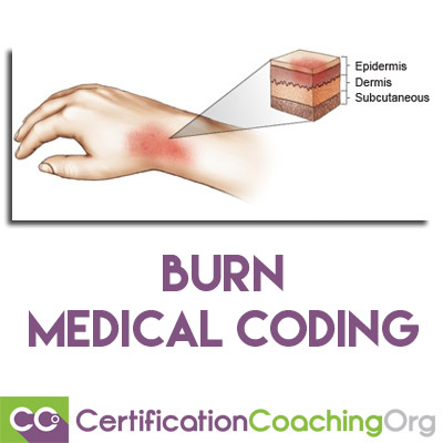 burn medical coding