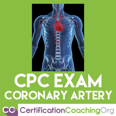 cpc exam coronary artery