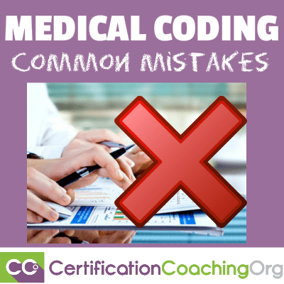 medical coding mistakes