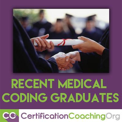 recent medical coding graduates