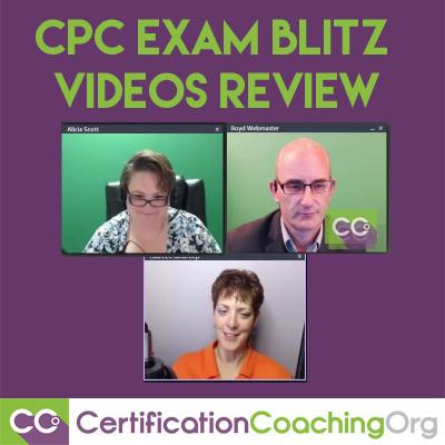cpc exam blitz videos review