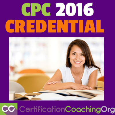 How to Maintain Your CPC Credential into 2016