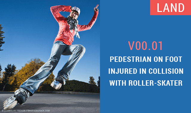 Pedestrian on Foot - 20 Amusing and Bizarre New ICD-10 Codes
