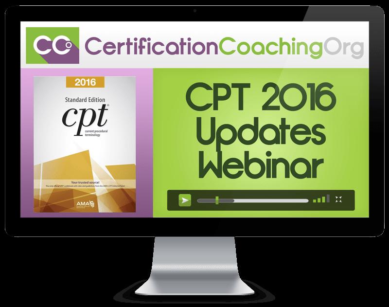 CPT 2016 Updates