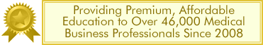 CCO Providing Affordable Education to Medical Business Professionals Since 2008