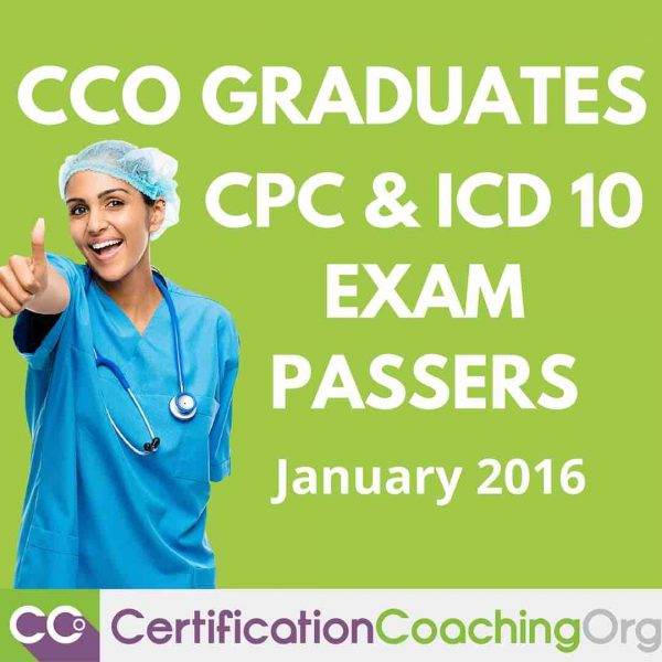 CCO Graduates – ICD 10 and CPC Exam Passers January 2016