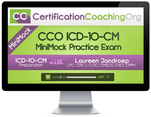 ICD-10-CM-Practice Exam by CCO
