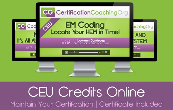 CCO CEU Credits Course for AAPC and AHIMA