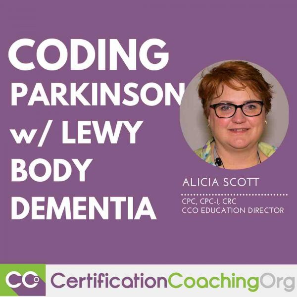 Coding Parkinson's Disease with Lewy Body Dementia