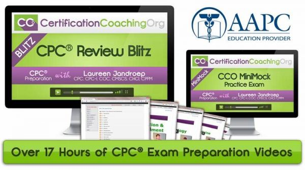 CPC Review Blitz Medical Coding Class