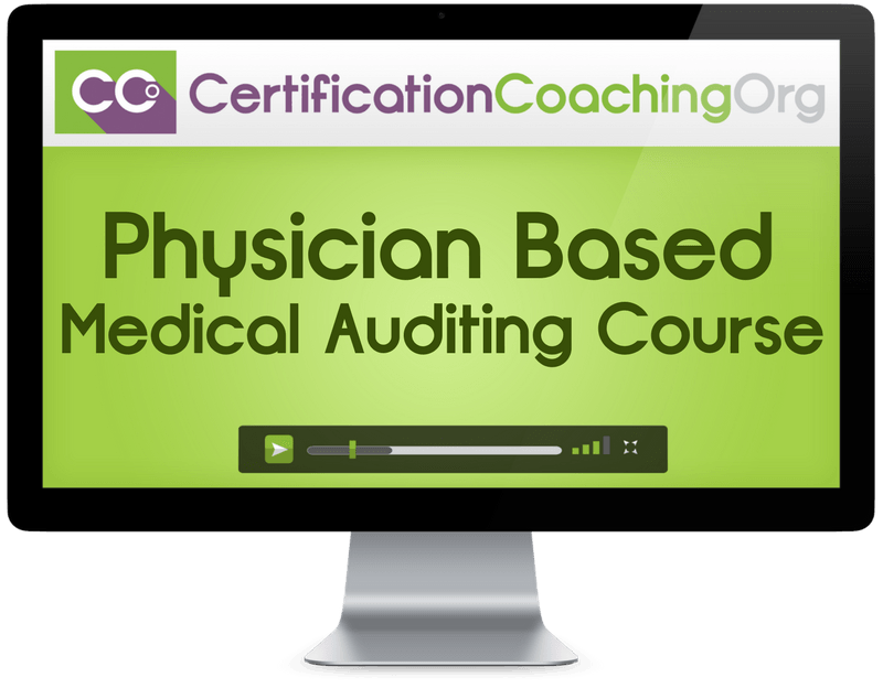 CPMA Medical Auditing Course