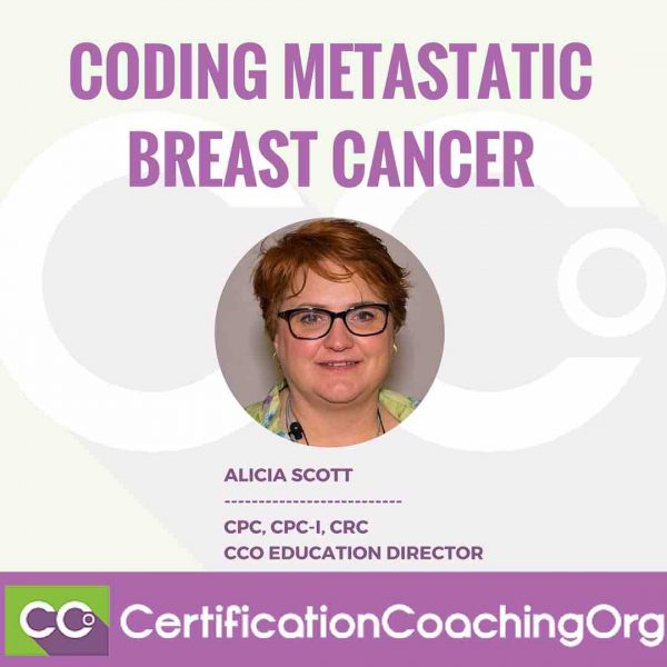 Coding Metastatic Breast Cancer Diagnosis