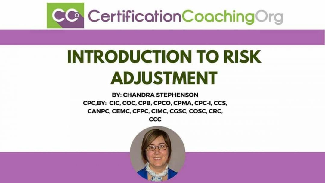 Introduction to Risk Adjustment HCC Coding