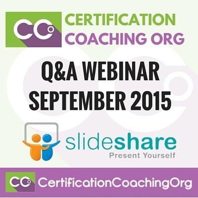 September 2015 Q&A Medical Coding Webinar