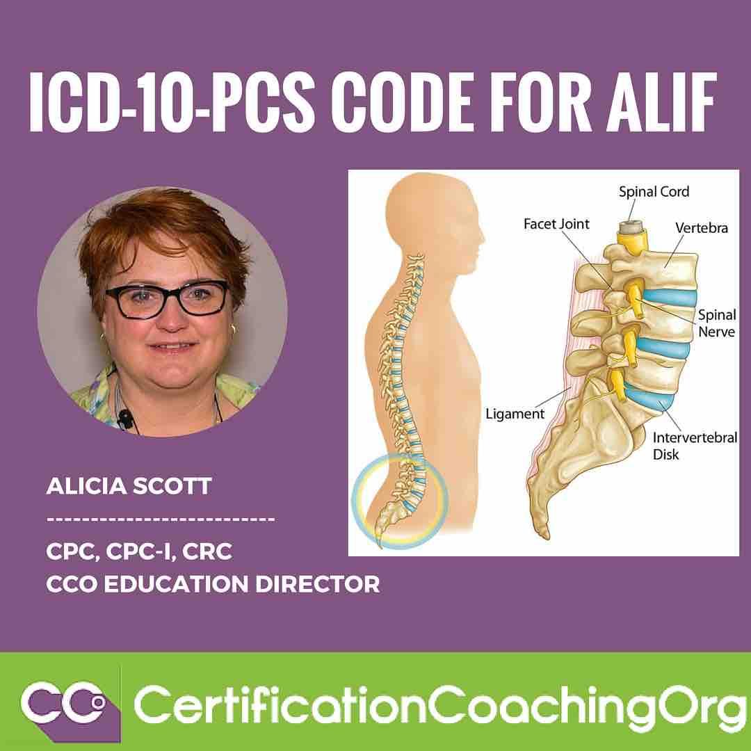 ICD-10-PCS Code for ALIF (Anterior Lumbar Interbody Fusion Procedure)
