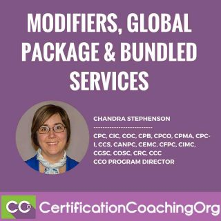 Modifiers, Global Surgical Package and Bundled Services Explained