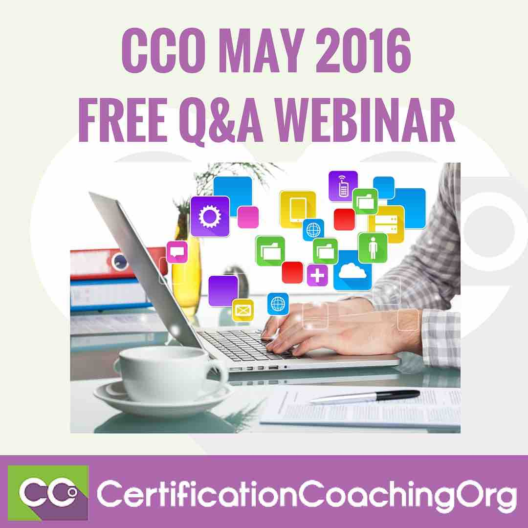 CCO May 2016 Q&A Webinar Intro | FREE Medical Coding Webinar