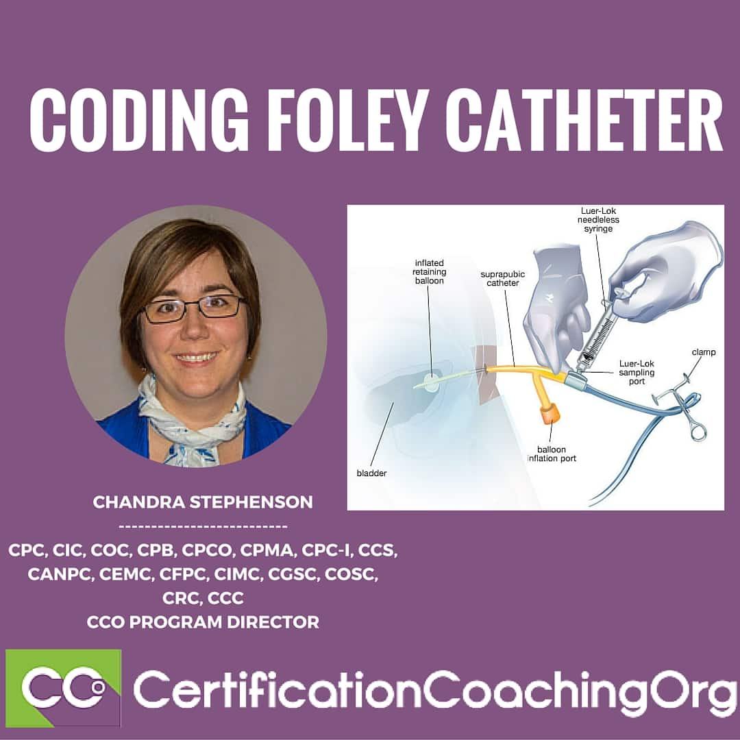 How to Code for a Foley Catheter in a Skilled Facility?