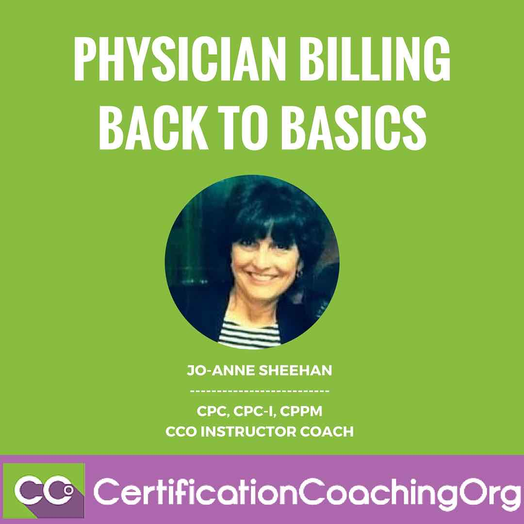 Physician Billing Back to Basics The Very First Step