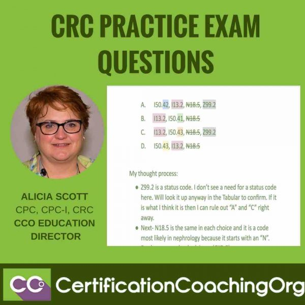 CRC Practice Exam Questions | CRC Practice Exam Layout