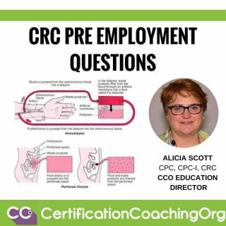 CRC Pre Employment Questions | CRC Coding Tips - Certification Coaching Org