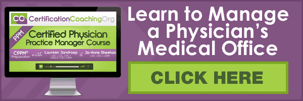 CPPM Physician Practice Manager Course Online