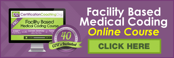 Facility Outpatient Medical Coding Course Online