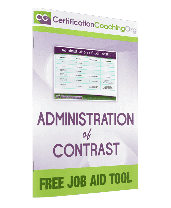 Administration of Contrast Job Aid Tool