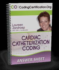Cardiac Catheterization Coding Answer Sheet