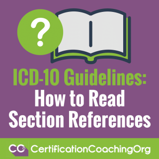 ICD-10 Guidelines How to Read Section References