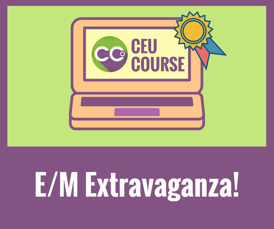 CEU Credits Online Course - EM Extravaganza!