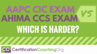 Comparing AAPC CIC and AHIMA CCS Exams - Which is Harder
