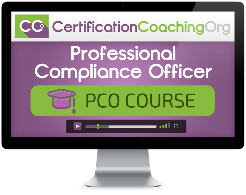 CPCO Professional Compliance Officer Course