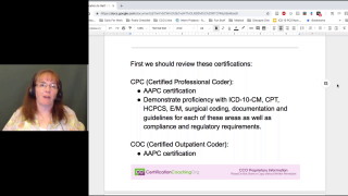 Which Medical Coding Certifcation to Get 02