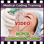 HCPCS Anesthesia Codes VIDEO — CCO Medical Coding