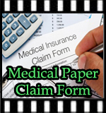 Medical Paper Claim Form