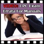 CPC Exam Question — Errata for Manuals