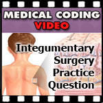 CPC Exam Questions on Integumentary Surgery