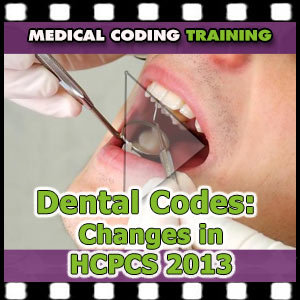 dental codes