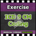 ICD 9 CM Coding Practice Exercise — VIDEO