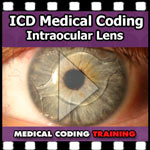 ICD Medical Coding: Intraocular Lens — VIDEO