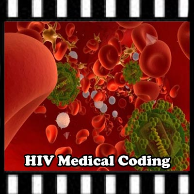 hiv medical coding