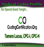 Medical Coder Profile - Tamara Lucus