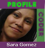 medical coder profile - sara gomez