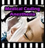 medical coding anesthesia
