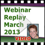 Medical Coding Webinar March 2013 Replay — VIDEO