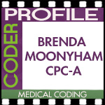 Medical Coder Profile — Brenda Moonyham, CPC