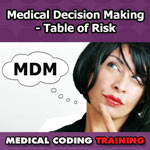 Medical Decision Making: Table of Risk — VIDEO