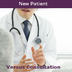 New Patient Versus Consultation — Video